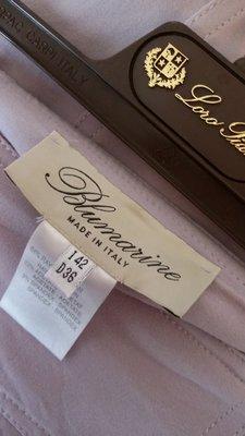 【Blumarine】淡薰衣草色三摺裙