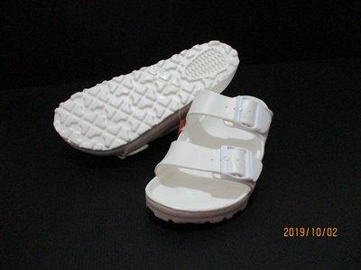 【喬治城】New buffale 防水運動拖鞋 EVA雙扣 軟底 白色 91640301 超取免運