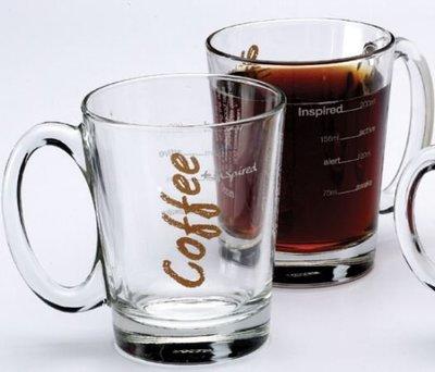 ~附發票~【城市咖啡廣場】 肯亞耐熱玻璃馬克杯 315cc BP2041-G1