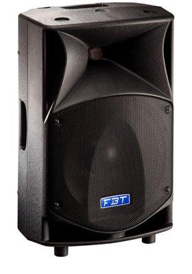 【昌明視聽】加拿大 FBT ProMaxX 10A 內建600瓦功率擴大機 兩音路 單隻售價 主動式專業舞台喇叭