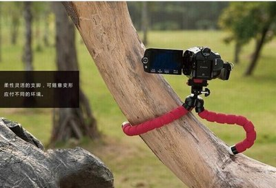 大號海綿支架 便攜八爪魚 迷你三腳架 手機 卡片 微單相機章魚 953