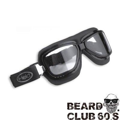 ♛大鬍子俱樂部♛ Held ® Classic Motorcycle 9803 法國 原裝 哈雷 飛行 風鏡 護目鏡