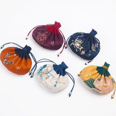 【萬佛緣】情人節復古荷包香囊天然草本香包 隨身香袋 古典中式小荷包古裝