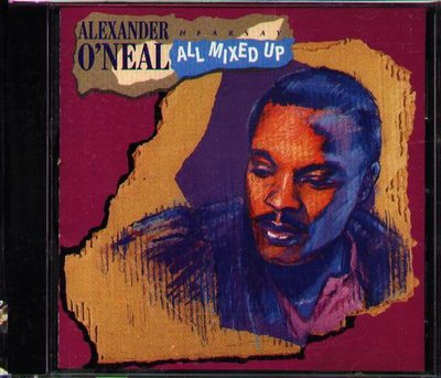 K - Alexander O'Neal - Hearsay - All Mixed Up - 日版