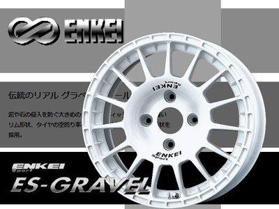 JD-MOTORS 日本製ENKEI  ENKEISport系列 ES-GRAVEL 14吋輪圈