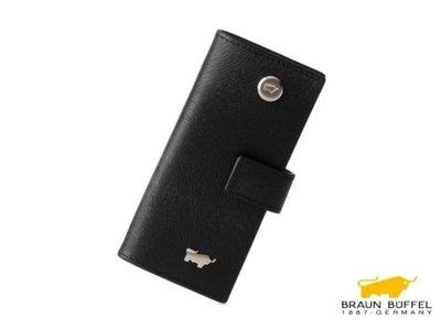 BRAUN BUFFEL小金牛提貝里烏斯單把鎖包鑰匙包鑰匙環圈原廠代購正貨有盒週年慶特惠價$1900元免運Display