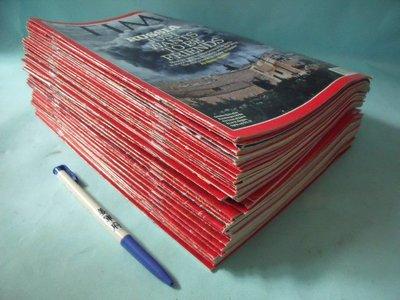 【姜軍府】《TIME英文雜誌 共46本合售!》2014年~2015年 英文版!蔡英文 習近平 川普 馬克·祖克柏 林志玲
