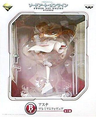 日本正版 一番賞 刀劍神域 SAO STAGE2 B賞 亞絲娜 PM 公仔 模型 日本代購