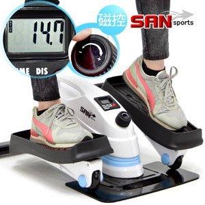 磁控阻力3in1橢圓踏步機(結合跑步機+健身車)美腿機健步機慢跑機腳踏機登山機太空漫步機運動健身C082-T3⊙偷拍網⊙