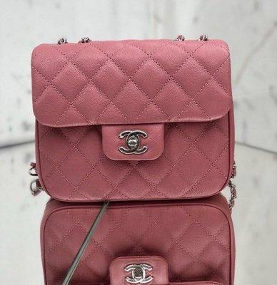 Chanel A35200 mini square 荔枝紋