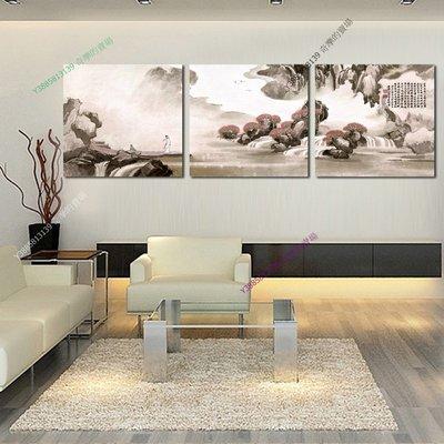 【50*50cm】【厚0.9cm】中國風-無框畫裝飾畫版畫客廳簡約家居餐廳臥室牆壁【280101_047】(1套價格)