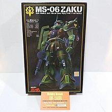 機動戰士高達 Gundam Real type MS-06 Zaku 渣古 1/100 初版組合模型 Bandai 80s日本製 公仔嘜 [爆玩具網店銷售]