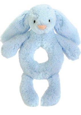 英國 JELLY CAT Bashful bunny rattle 18cm(預購)