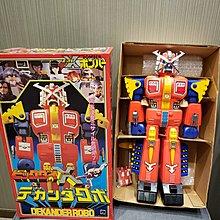 全新1980年 Takatoku X-Bomer 機械人 jumbo 大膠