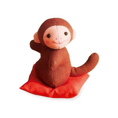 十二生肖布偶裝飾品 材料包 (日本製)-猴 ❤EZ樂活手作❤