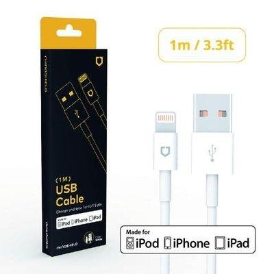 高雄台南【豐宏數位】犀牛盾 Lightning to USB 一米傳輸線 1M 原廠認證 下標郵寄免運 另贈i線套