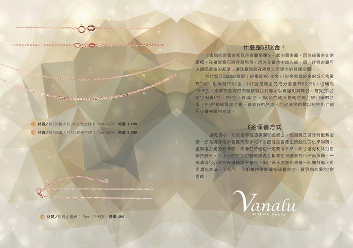 ~ SilverFly銀火蟲銀飾 ~VANALU 316玫瑰金鋼鍊