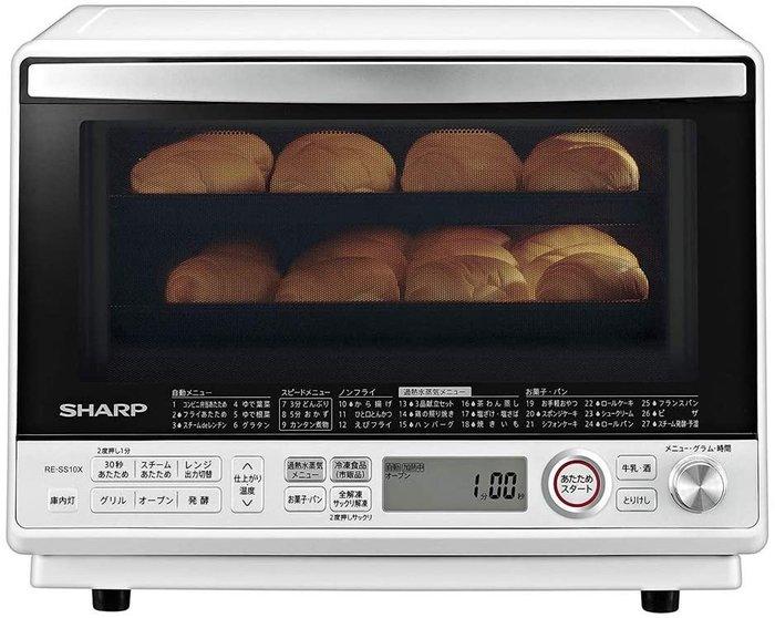 日本代購 SHARP  夏普RE-SS10X  31L 水波爐烤箱 過熱水蒸氣 2段調理 日本海運直送