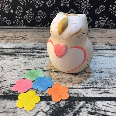 祝福語貓頭鷹和紙擺飾,可在貓頭鷹肚子上寫下心願🌟最特別的禮物都在奧爾思🌟