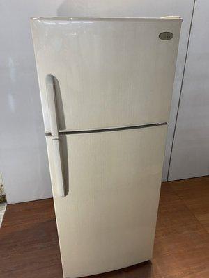 美國西屋雙門410L電冰箱 家用冰箱 冷藏冷凍櫃 中古電器買賣 二手家電 二手冰箱 洗衣機 A3662晶選二手傢俱】