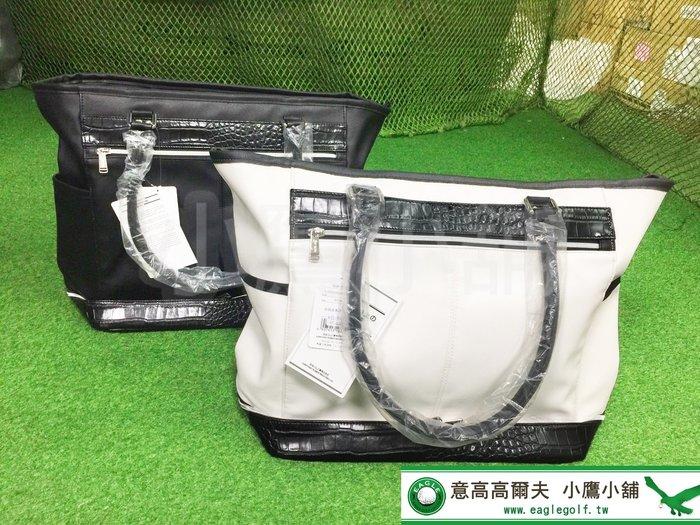 [小鷹小舖] Dunlop SRIXON Bag GGB-S151 高爾夫 衣物袋 手提包 手提袋 旅行袋 合成皮革材質