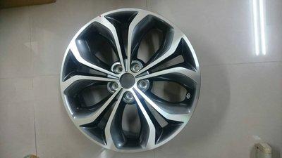 全新19吋鋁圈 原廠 現代 Santa Fe 灰底鑽石刀面5孔114.3 (ix35 ix45 eVGT)
