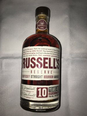 RUSSELL'S whiskey 10 years old 750ml 威士忌