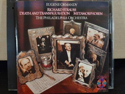 Ormandy,R.Strauss-Death And Transfiguration, Metamorphosen,奧曼第,理查·史特勞斯-死與變容,變形等。