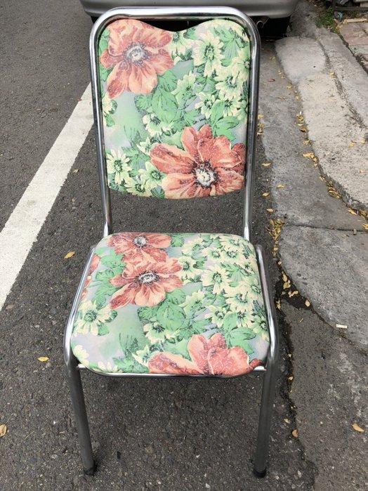 非凡精品家具 全新品 電鍍紳士椅(菊花)*餐椅*麻將椅*洽談椅*書桌椅*辦公椅*電腦椅*休閒椅*鐵椅B331-17