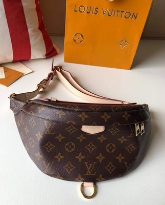 ✤寵愛Pamper for you✤LOUIS VUITTON BUMBAG LV老花腰包胸包