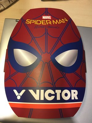 Victor(已絕版)限量版蜘蛛人羽毛球拍
