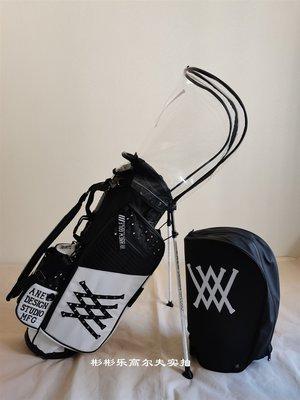 萌時尚小鋪 高爾夫球包韓國潮牌鉚釘球桿包輕便防水支架包golf三色裝備包