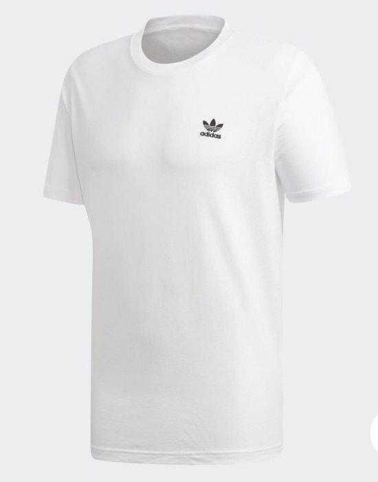 玉米潮流本舖 ADIDAS ORIGINALS 男款 DV1576 白色 刺繡 小LOGO 短TEE