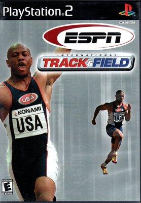 PS2 ESPN TRACK & FIELD 美版 附解說書 139900000408 再生工場02