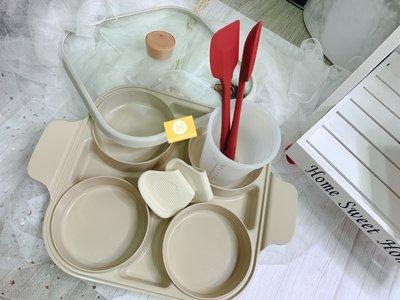 現貨] 韓國直進 大廠 Neoflam Fika 牛奶鍋系列 27cm 四格蒸氣鍋(附有配件) (瑕疵)