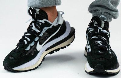 Nike Vaporwaffle sacai Black White CV1363-001 購附驗鞋