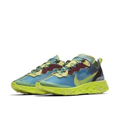 GOSPEL【Undercover x Nike React Element 87】 螢光綠 BQ2718-700