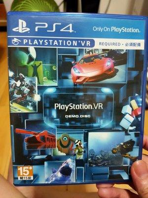 PS4 VR DEMO DISC 藍光片