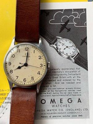 1940 omega 2292 30t2sc#二戰時期80歲老錶#鋁質錶殼#軍錶#rolex1601#longines#tudor#16610#16800#