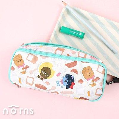 日貨Kakao Friends多層夾筆袋 Bakery系列- Norns 日本Sun-star正版 Ryan 鉛筆盒