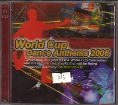 華聲唱片- World Cup Dance Anthems 2006  / 全新CD -- 120323