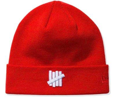 UNDEFEATED X NEW ERA ICON CUFFED BEANIE 挺版針織帽。太陽選物社
