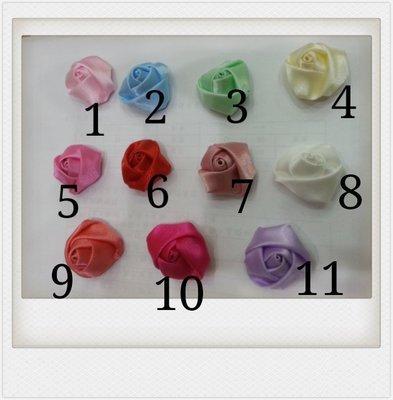 C62~~小號秀士玫瑰花朵苞**大宗批發500個*1元