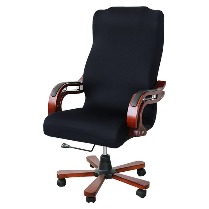 熱賣老板椅椅套 大班椅子套會議室椅背套辦公網吧扶手罩包加大碼##防滑#防塵#加厚