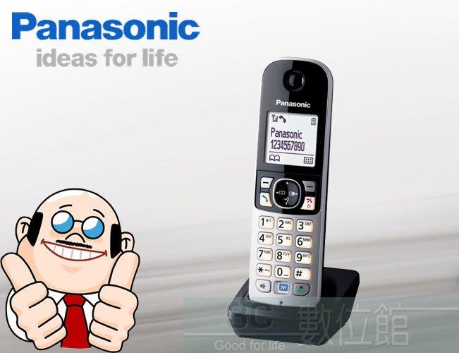【6小時出貨】Panasonic DECT 擴充手機 KX-TGA681 適用國際牌多款電話擴充↘全新品↘中文操作介面