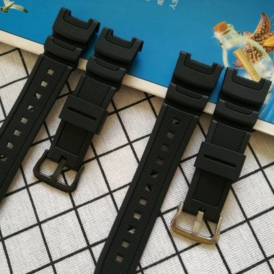 現貨適用卡西歐SGW100系列男手錶帶3157 SGW-100樹脂橡膠錶帶(390)