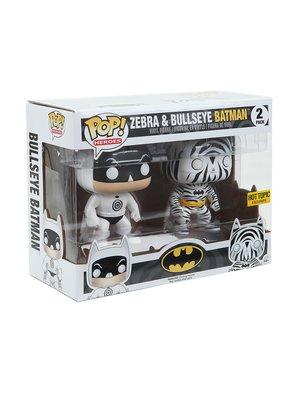 代購  FUNKO DC COMICS HEROES ZEBRA & BULLSEYE BATMAN 限定版