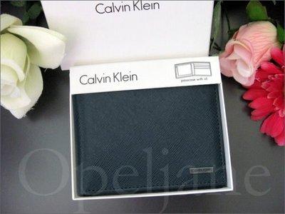 美國官 CK Calvin Klein WALLET 卡文克萊 真皮 中夾 短夾 皮夾 抽取式ID 禮盒裝真品 免運費