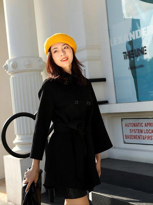 衣萊時尚-帽子女韓版羊毛貝雷帽女秋冬網紅日系ins百搭英倫復古學生畫家帽