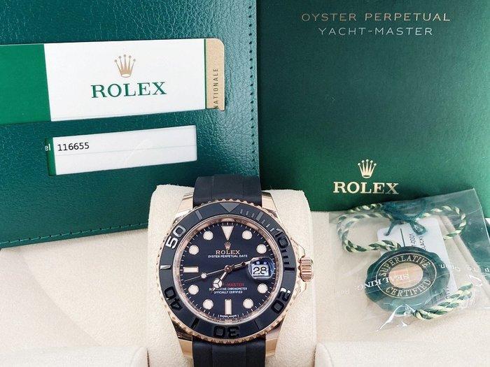 【英皇精品集團 】ROLEX 勞力士 Yacht-Master 116655 遊艇名仕 永恆玫瑰金